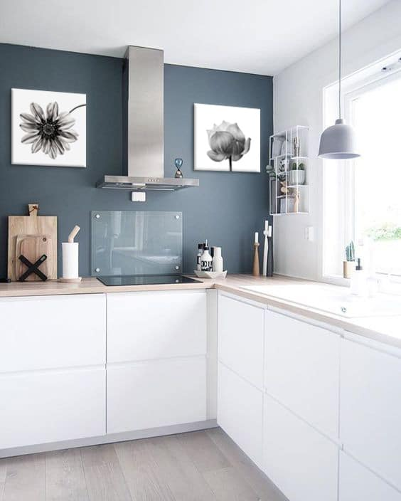 Je dcore ma cuisine blanche  Blog Toile Design et Moderne dIzoa