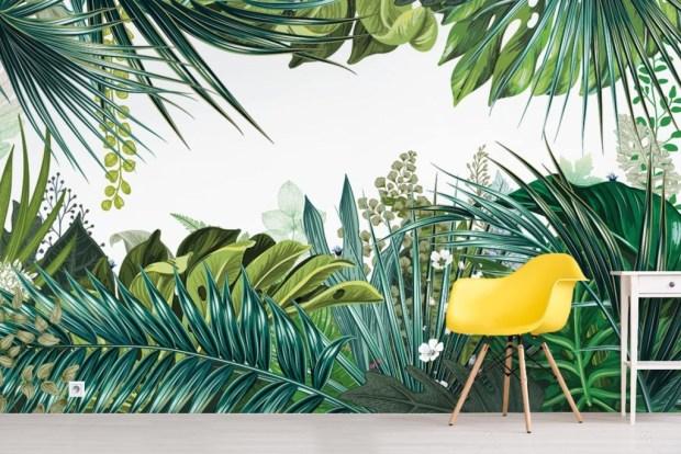papier peint jungle izoa déco restaurant