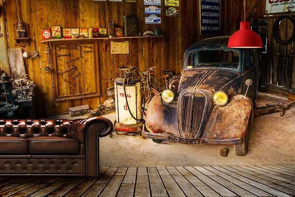 Dco salon style industriel vintage  Blog Izoa