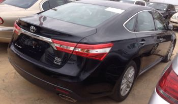Toyota Avalon 2013/14 Black full