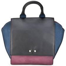 Μπορντό τσάντα ώμου 6761