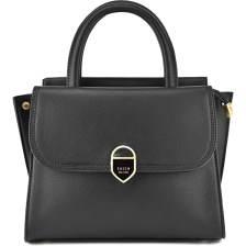 Μαύρη τσάντα χειρός Dimitra