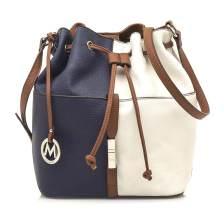 Μπλε τσάντα πουγκί MariaMare GINEBRA