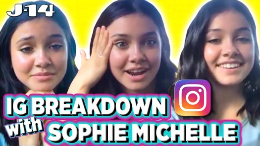 Sophie Michelle Reacts to Old Instagram Pics With Music Stars