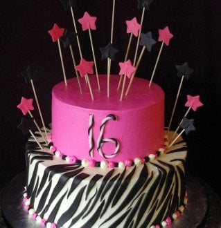 Sweet Sixteen and Quinceañera Cakes