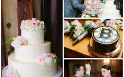 Paulina & Greg's Textured Buttercream Cake