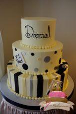 (119) Gaming Theme Birthday Cake