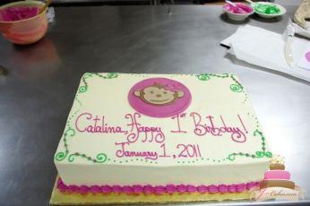 (417) Monkey Birthday Cake