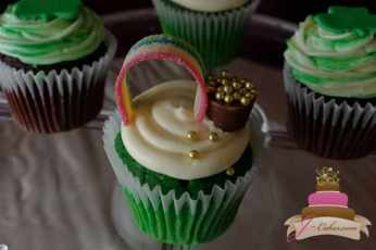 (619) St. Patrick's Day Cupcakes