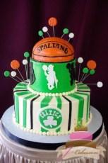 (717) Boston Celtics Groom's Cake