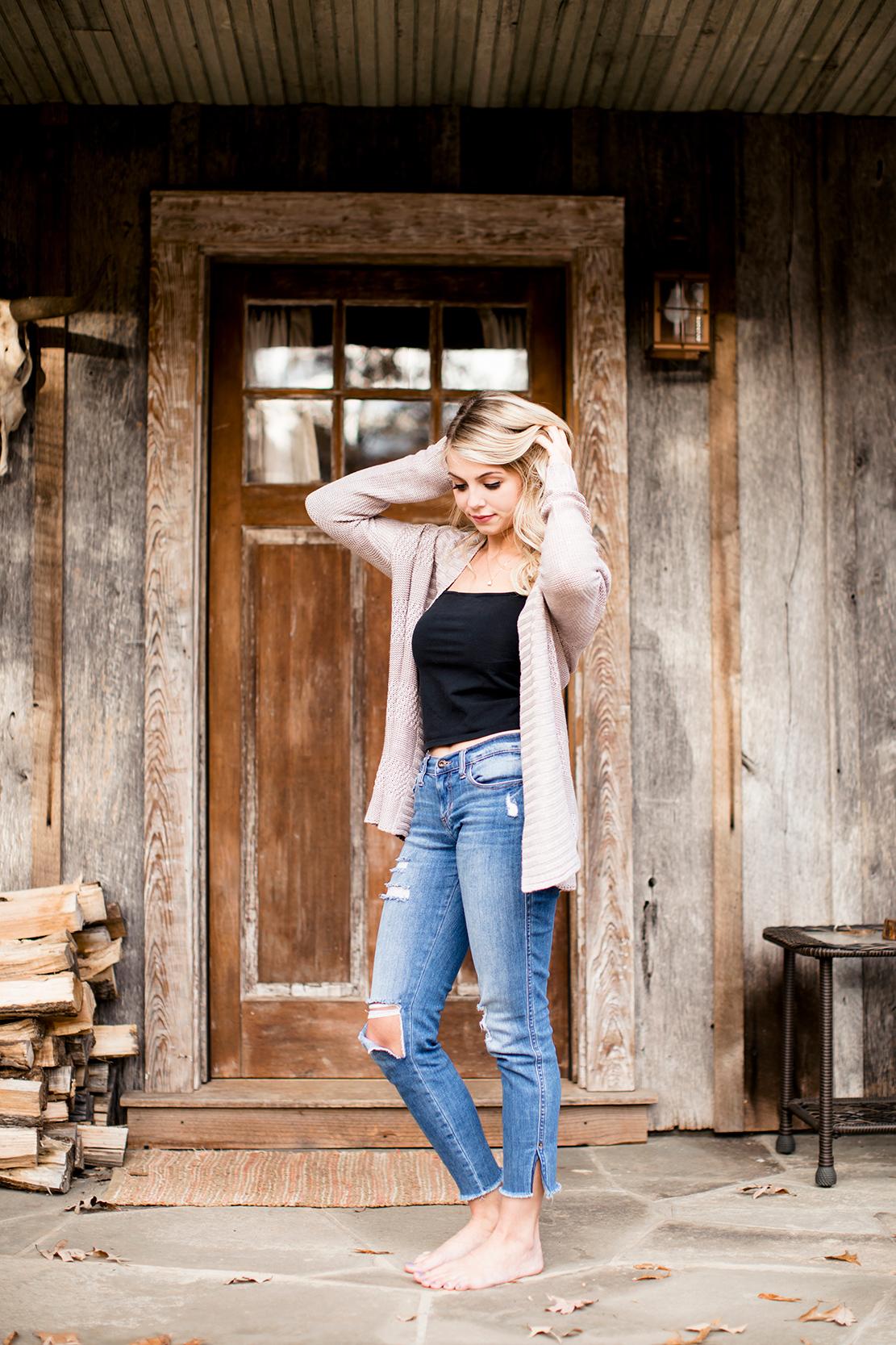 Rustic Cabin Female Boudoir Portraits  JD Photo LLC