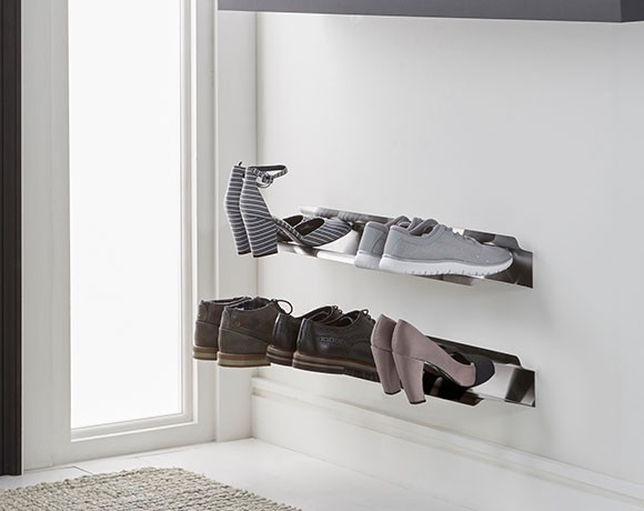 Wall Mounted Shoe Cabinet