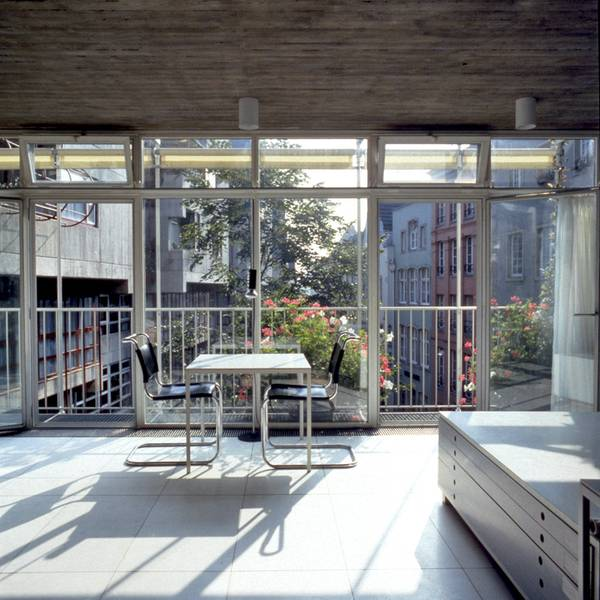 Joachim Schrmann Architekten Brohaus Lintgasse Kln 1977