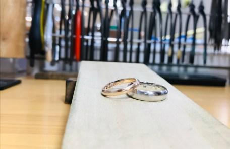 手作り結婚指輪-ジュエリー庄司