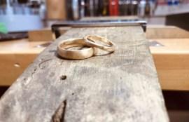 ジュエリー庄司 2人で作る結婚指輪 ハンドメイド マリッジリング 福島県いわき市