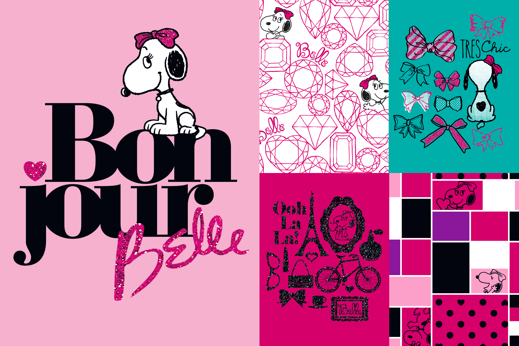 Snoopy & Belle graphics