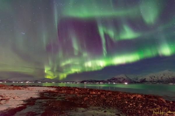 Aurora borealis February 2018