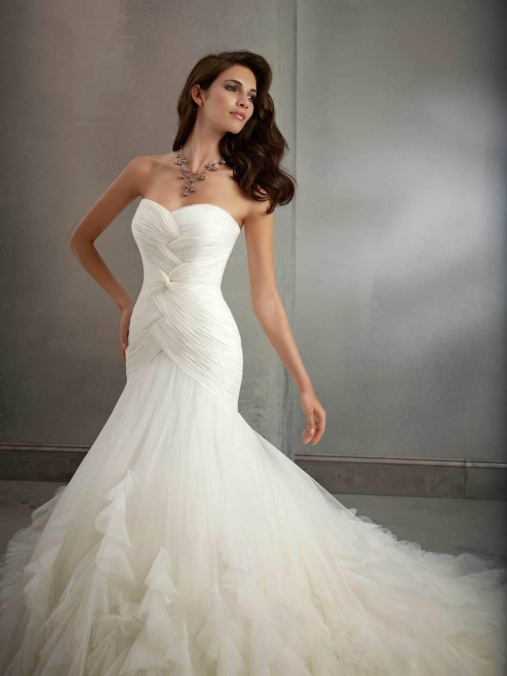 Brautkleid Melanie 39027 von MGNY auf Jade
