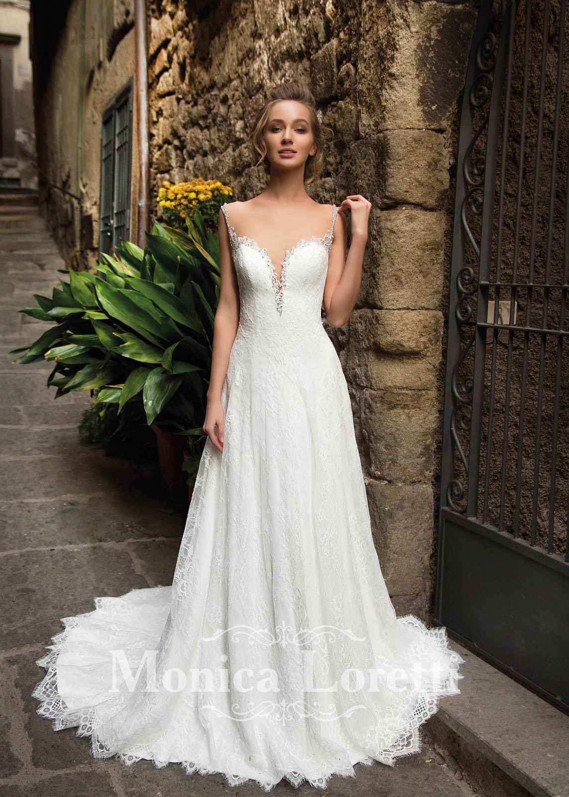 Brautkleid Nency von Monica Loretti auf Jade