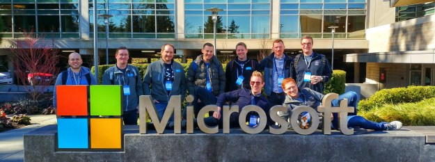 Meeting up with fellow Cloud and Datacenter MVPs on the Microsoft Campus