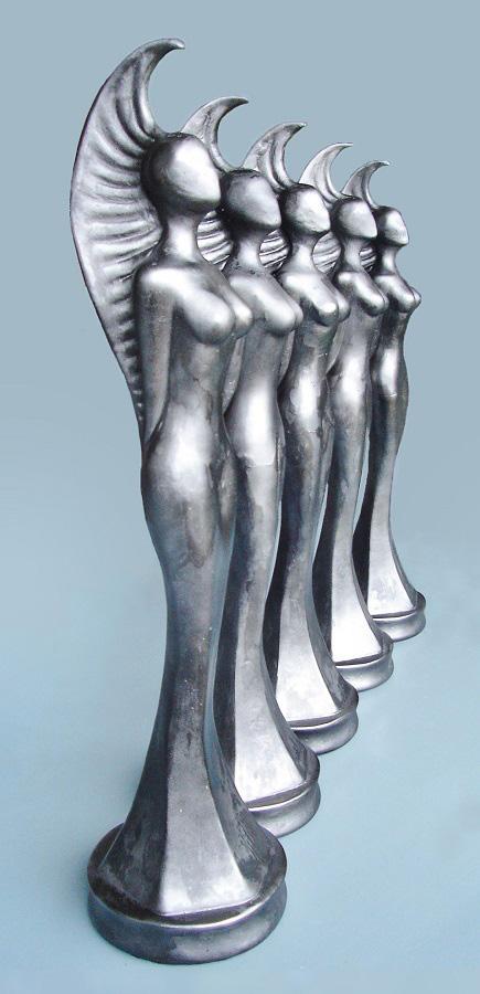 Awards/custom made trofeeën dienen als prijsuitreiking voor films/reclames/nominaties
