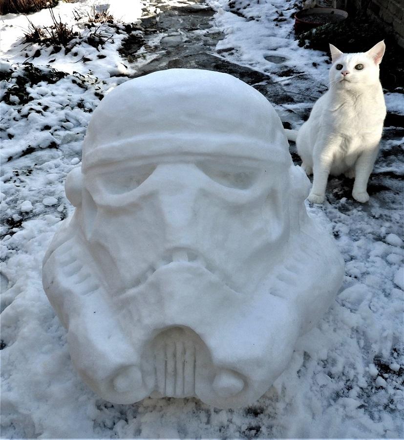 icesculpture/ snowsculpture snowtrooper