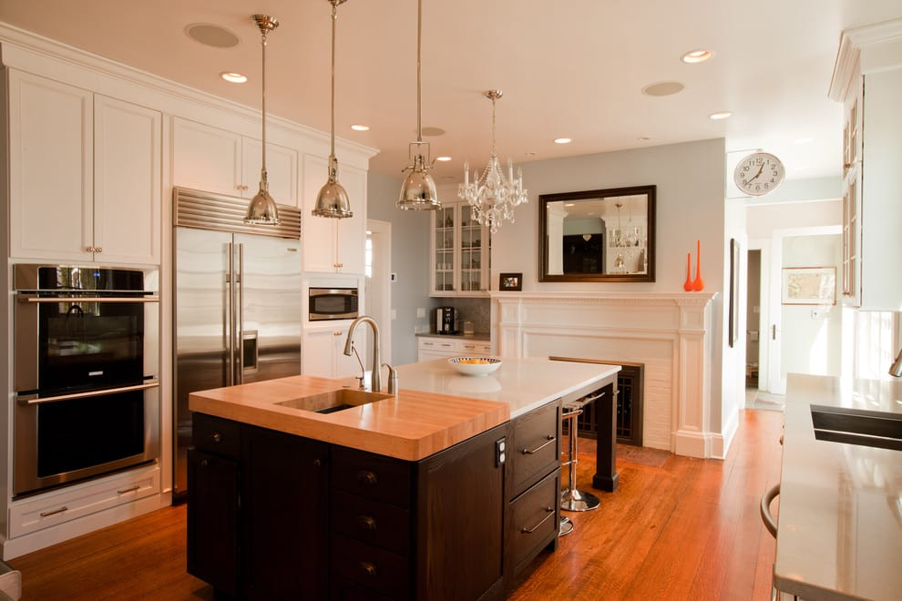 Wood Countertops In Small Doses  J Aaron