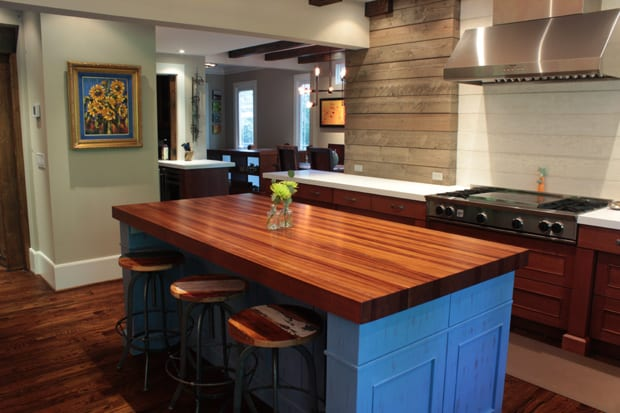 kitchen island tops cabinet knobs and pulls finishing a diy wood countertop j aaron thoughts for your first time project