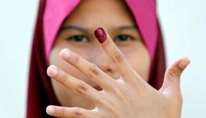 Pemilu di Malaysia (REUTERS/Bazuki Muhammad)
