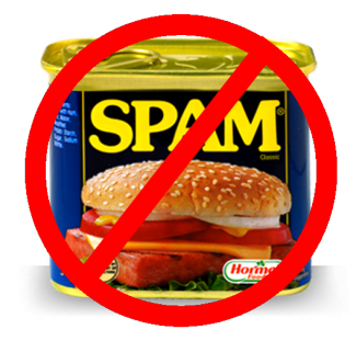 Spam module enabled