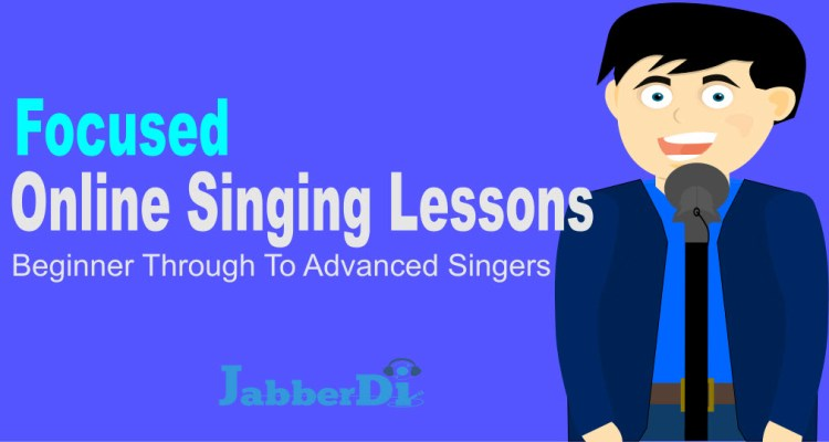 focused online singing lessons and courses