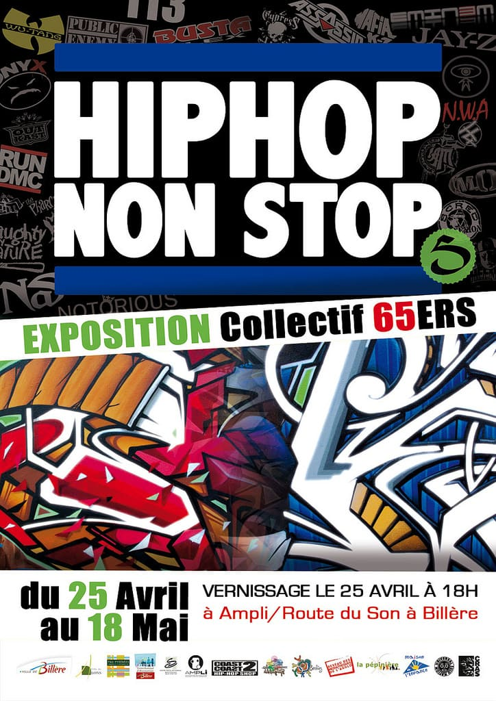 Exposition Graffiti Hip Hop Non Stop 5