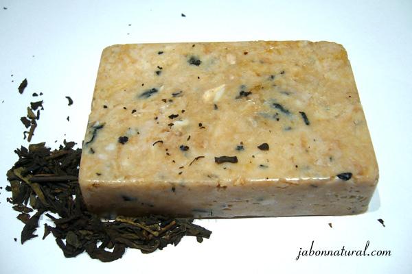 Jabón de té rojo - jabonnatural.com