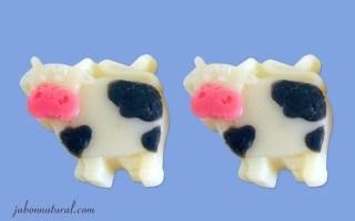 Vacas de jabón de glicerina