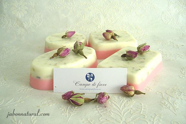 Jabón de rosas y lima