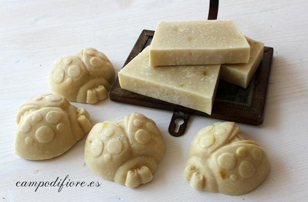 Jabón para bebés y pieles sensibles - Campo di fiore