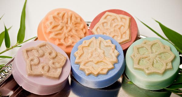 Moldes plásticos para jabón