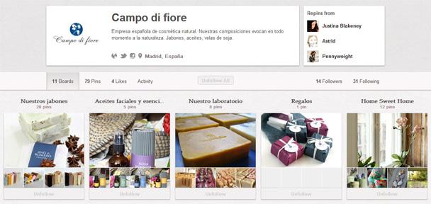 Campo di fiore en Pinterest