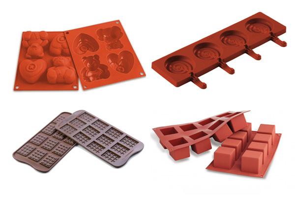 Moldes de silicona para hacer jabones