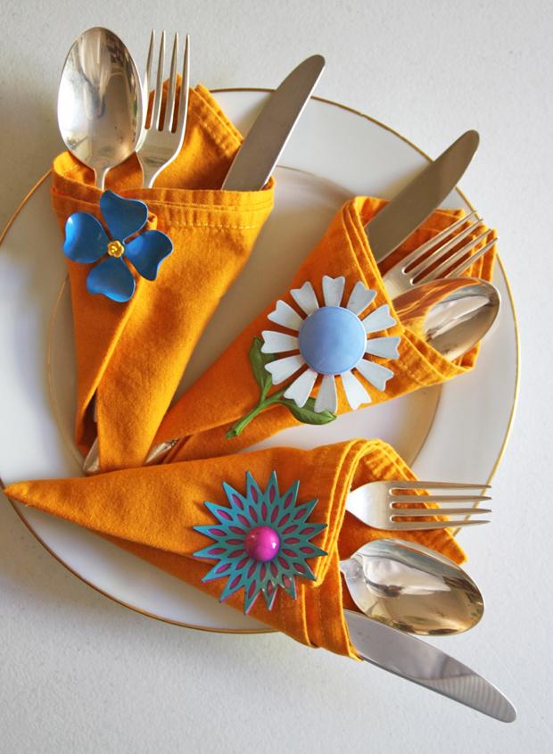 Broches para servilletas