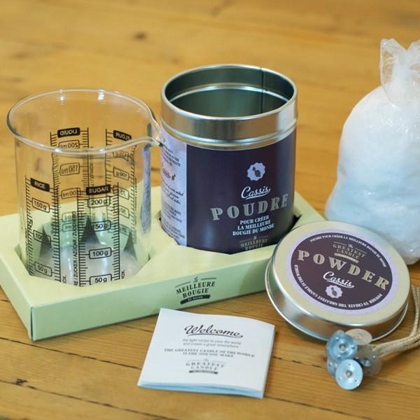 Kit para hacer velas con aceite usado