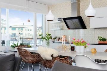 Apartamento de 85 metros cuadrados - cocina