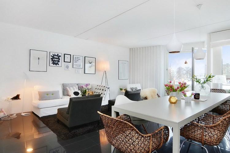 Apartamento de 85 metros cuadrados - salón