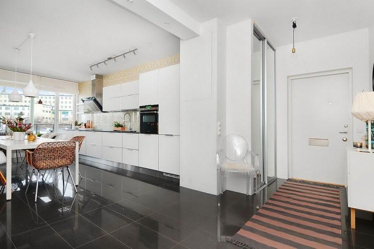 Apartamento de 85 metros cuadrados - entrada