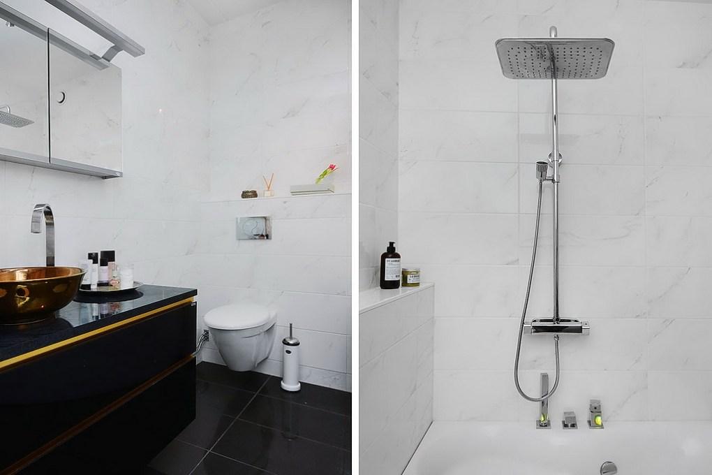 Apartamento de 85 metros cuadrados - baño