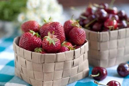 Cómo hacer cestas de fruta con papel