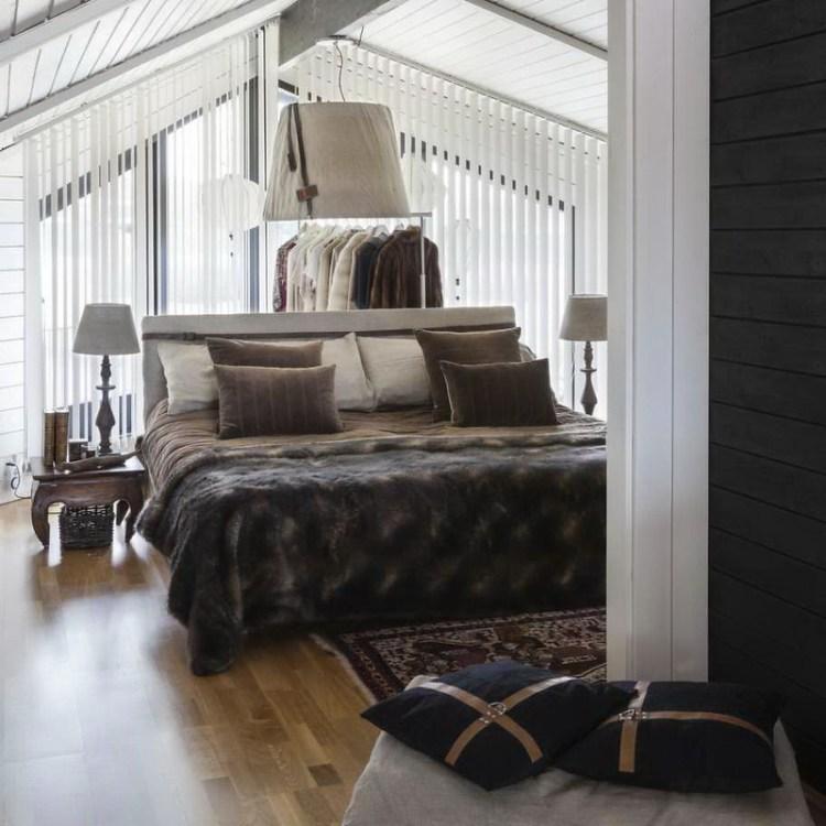 Casa en Suecia - habitación principal