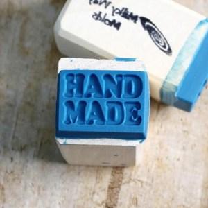 Sello para jabones Handmade