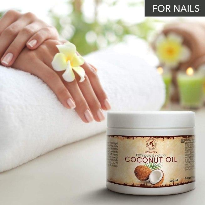 Aceite de coco puro y natural