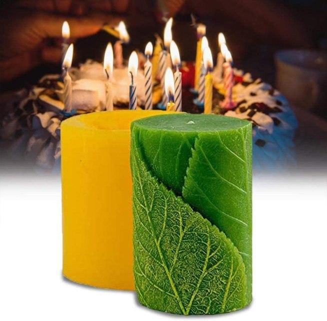 Molde de silicona para velas